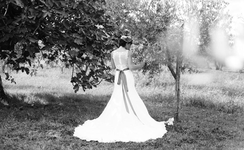 Abito sposa estivo Savarese