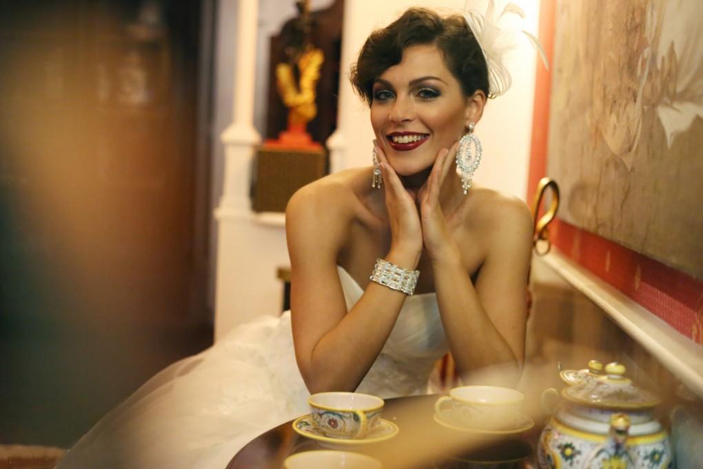 Accessori sposa Savarese : orecchini e bracciali